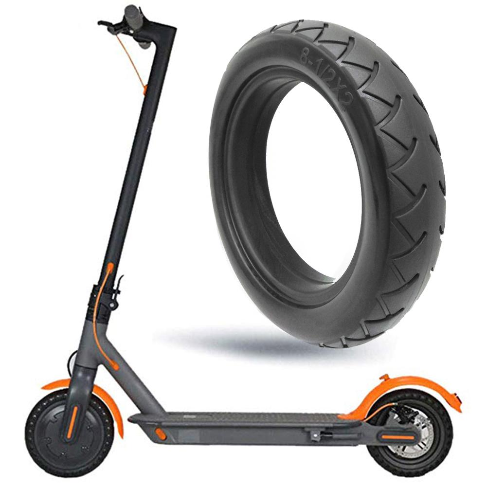 8.5 Inch Tubeless Tire 8 1/2x2 Tyres For Xiaomi Mijia M365 Electric Scooter Non-Pneumatic Thick Strong For 8.5