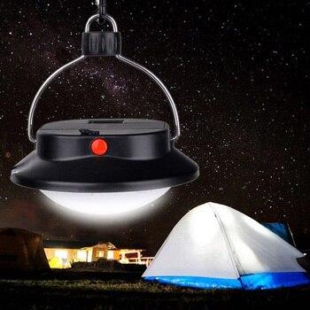 Lámpara LED portátil de campaña luz de emergencia nocturna