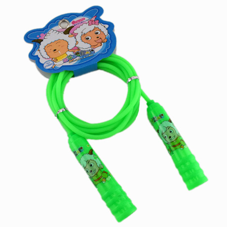 Children Jump Rope Pleasant Goat And Big Wolf Jump Rope CHILDREN'S Young STUDENT'S Jump Rope