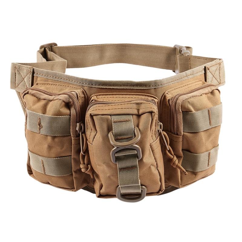 Outdoor Waist Pack Bag Jungle Hunter Ranger Waist Pocket Outdoor Sports Riding Waist Bag