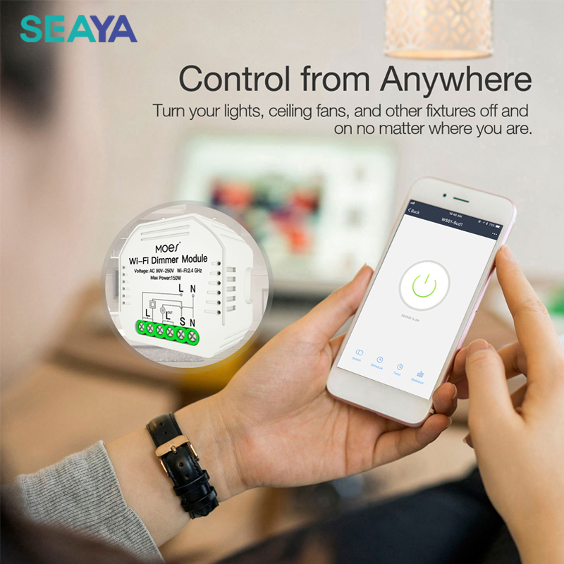 2 maneira interruptor vida inteligente tuya app 02