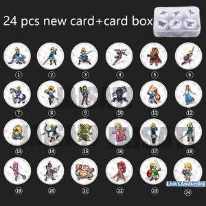 Image 5 - 24pcs NTAG215 זלדה NFC כרטיס 20 לב זאב Revali Mipha Daruk Urbosa עבור amiibo משחק האגדה של נשימה של wild NS מתג