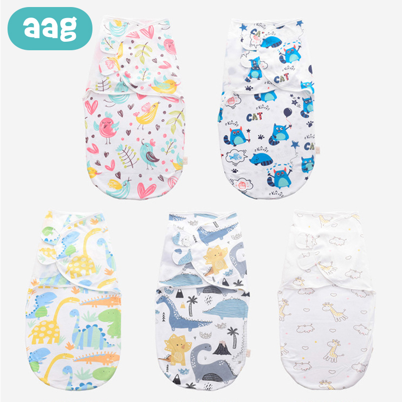 AAG Envelope For Discharge Stroller Baby Sleeping Bag Swaddle Wrap Diaper Cocoon For Newborns Maternity Hospital Discharge Kit