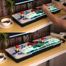Professional Design Multi-game 846 in 1 Family Box with Dual Joystick HD Home Game Machine with Colorful Dragon Pattern стоимость