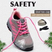 Sapatas de segurança de trabalho do dedo do pé de aço para sapatas de segurança de pouco peso da construção industrial resistente ao deslizamento da punctura