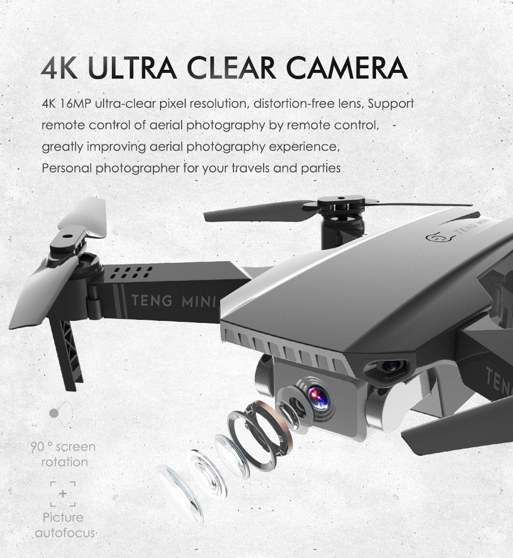 LAUMOX M71 720P RC Drone 4K Optical Flow HD Camera Mini Foldable Quadcopter WIFI FPV Selfie Drones Quadrocopter Toy VS KF609 1