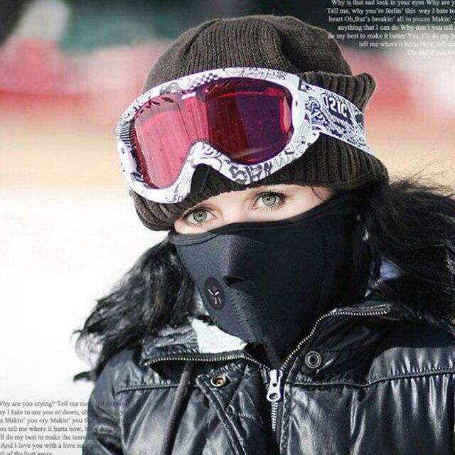 Unisex Motorcycle Mask Warmer Windproof Dustproof Warm Cycling Ski Maska Climbing Mountain Masks Outdoor Sports Balaclava 2