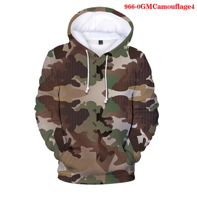 Męskie bluzy 3D bluza moro ubrania w stylu Harajuku z kapturem na jesień swetry na zimę Hip Hop chłopcy dresy człowiek bluzy topy tanie i dobre opinie WGTD WISH Jesień I Zima Na co dzień CASUAL CN (pochodzenie) Pełne COTTON POLIESTER Stałe REGULAR 966-Camouflage1 Brak