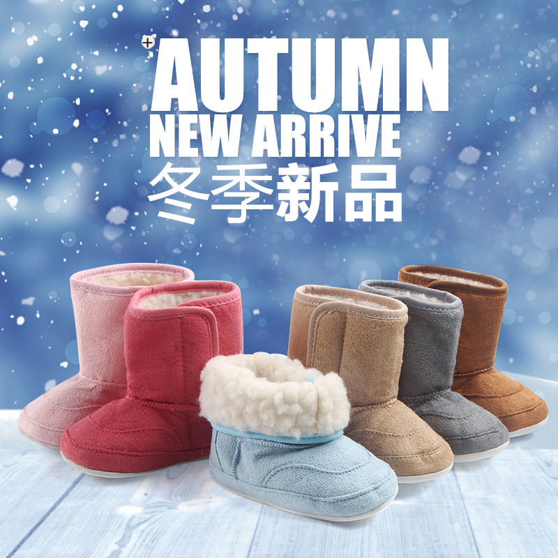 Kid Winter Boots Children Shoes For Boys Girls Snow Boots Ankle Fur Keep Warm  Toddler Shoes Unisex  Baby Girl Shoes Winter