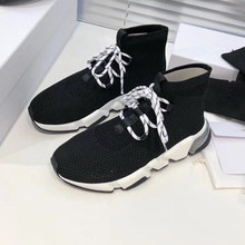 Shoes Korean-Fashion Runni Sports Breathable Men's Brand Mesh Couple Summer New