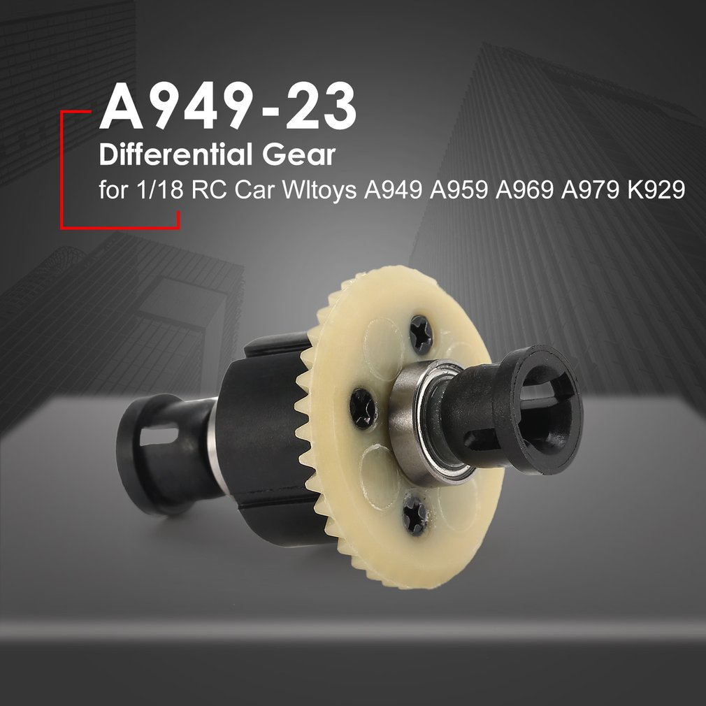 2019 <font><b>1/18</b></font> RC Car Transmission Differential Gear A949-23 for Wltoys Off-road Buggy A949 A959 A969 A979 K929 Spare Parts <font><b>Accessory</b></font> image