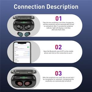 Image 5 - TWS Bluetooth 5.0 Với Sạc Hộp Tai Nghe Không Dây 8D Stereo Thể Thao Chống Thấm Nước Tai Nghe Nhét Tai Tai Nghe Có Micro