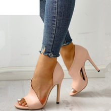 HOT Women Pumps New Shoes Sexy High Heels Ladies Party Stiletto & Enlargers Fema