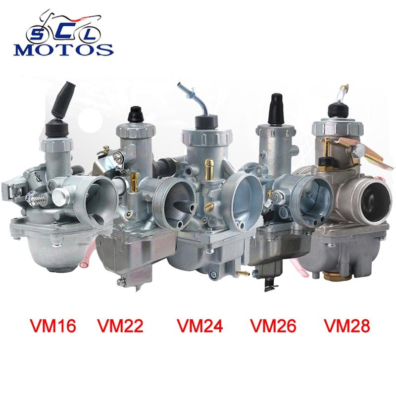 Карбюратор для мотоцикла sclmos-mikuni VM16 VM22 VM24 VM26 VM28 19 мм 26 мм 28 мм 30 мм 32 мм