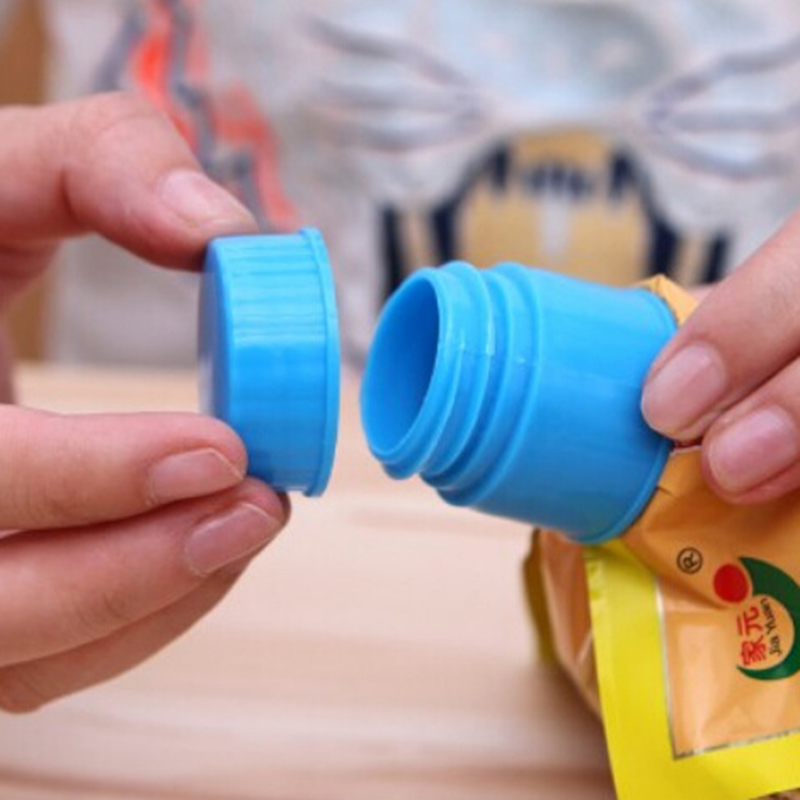 1 PCS New Sealed Pour Food Storage Bag Clips Snack Seal Clips Keep Fresh Sealer Clips Plastic Food Protector Kitchen Tool