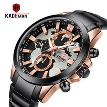 KADEMAN Top Brand Luxury Fashion Men Quartz Watch Calendar Auto Date World Map Casual Business Male Wristwatch Relogio Masculino цена 2017