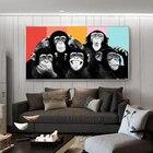 Funny Monkeys Graffi...