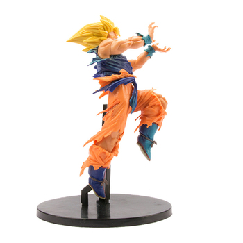 21cm Dragon Ball Z BWFC Super Saiyan Son Gokou World Figure Colosseum Goku PVC Action Figure Toy Collection DBZ Model Gift shf s h figuarts dragon ball z kid child son goku gokou pvc action figure collectible model toy