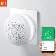 Originele Xiaomi Mijia Smart Home Multifunctionele Gateway 2 Alarmsysteem Intelligente Online Radio Nachtlampje Bel Samrt Hub
