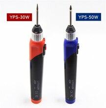 3.7V Senza Fili Elettrico Saldatura del Ferro 5s Riscaldamento 30W 50W USB Ricarica Della Batteria Al Litio Per La Manutenzione di apparecchiature elettroniche