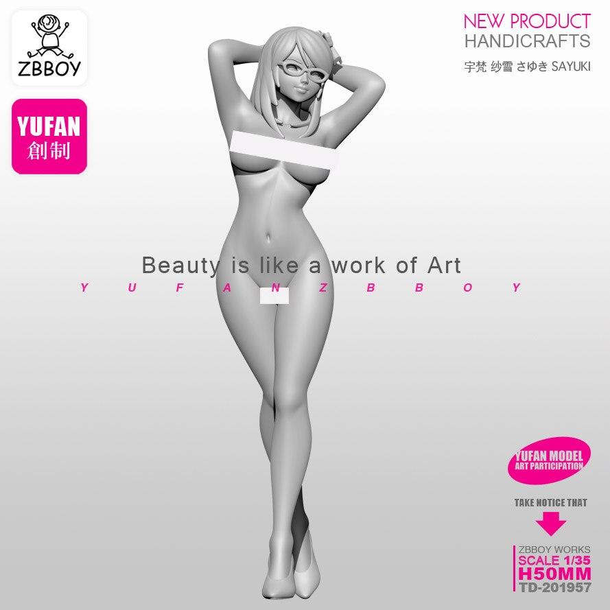 TD-201955 1//35 YUFAN Erstellt Love Beauty Resin Soldier