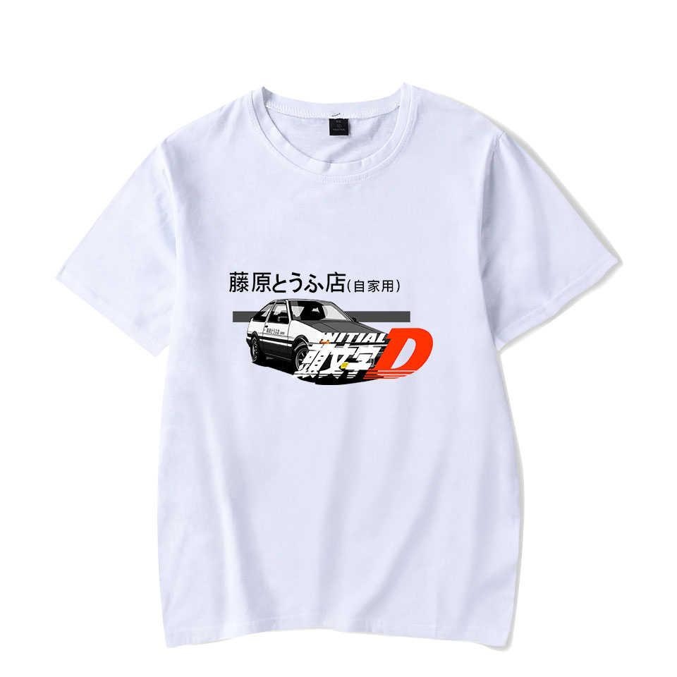 マツダ FC3S プリント Tシャツ車愛好家 Tシャツ男性女性原宿 Tシャツ映画頭文字 D ファッション Tシャツ Tシャツ