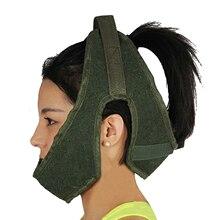 ירוק בד מתיחת צוואר הרחם חגורת קלע טרקטור צוואר מתיחת חגורת מתיחת צוואר טיפול כלי בית חולים ציוד רפואי