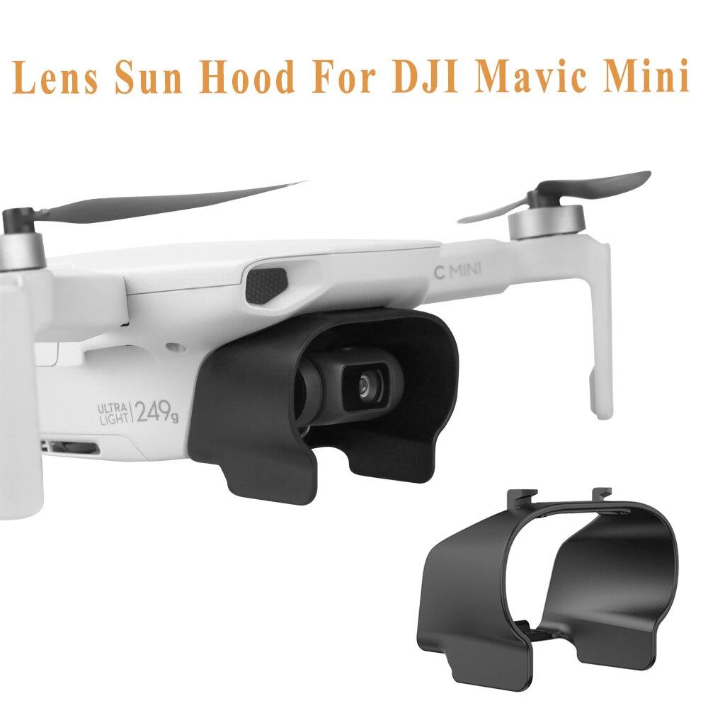 Mavic Mini Lens Hood Protector Sun Shade Glare Shield Gimbal Shade Anti Flare Lens Camera For DJI Mavic Mini Drone Accessories