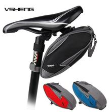 Bicycle Saddle Bag VSHENG Panniers MTB Bike Cycling Tail Rear Seat Storage Bags Accessories Carrier