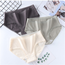 Panties cotton underwear female sexy lingerie G-string girl underpants lady casual T-back woman inti