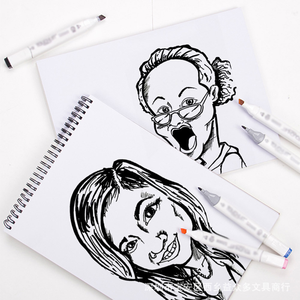 Marker Paper Pad A3 A4 A5 32 Sheets Sketch Artist Drawing Waterproof Coloring Books Stationery Painting Watercolor Sketchbook