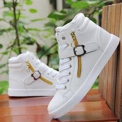 Męskie tenisówki botki Sneaker wygodne mokasyny Slip On Travel płaskie buty męskie para Walking Jogging trening Martin buty|Męskie buty z gumową podeszwą|Buty -