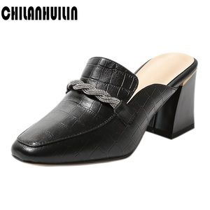 shoes woman pumps sexy slingbacks summer fall shoes high heels genuine leather high heel shoes women ladies party shoes slippers