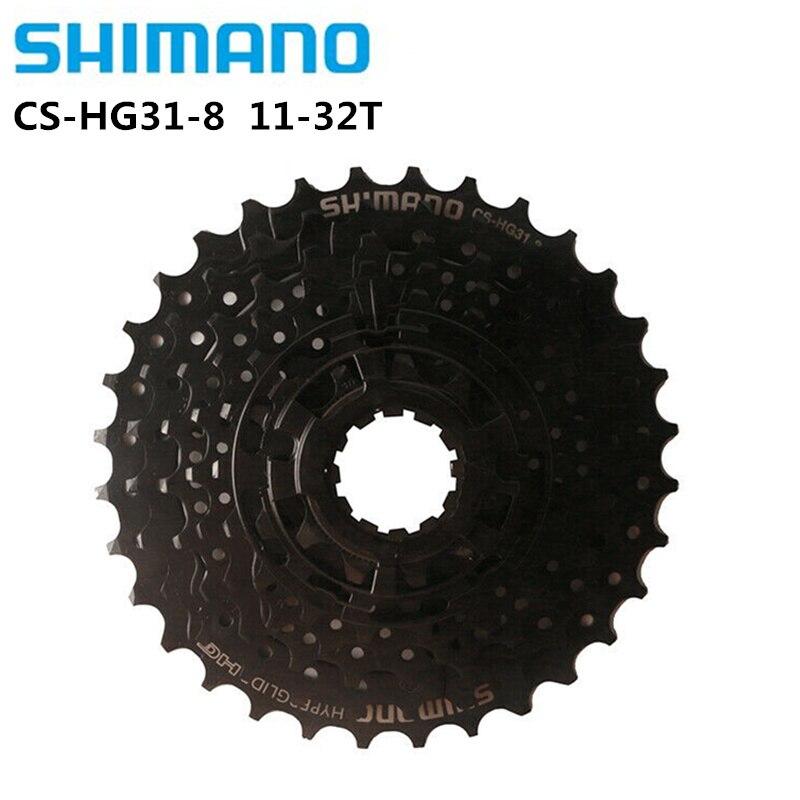 Shimano HG41 HG31 7/8 Speed 11-32T MTB Mountain Bike Bicycle Cassette Freewheel 7/8 Speed Flywheel Crankset Bicycle Parts