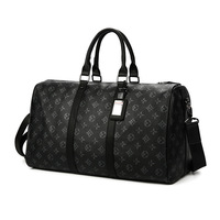 2019 Travel Bag Men's Handbag Men's Sports Fitness Bag Leisure Travel Tourism Large Capacity Leather Handbag Bag Tide