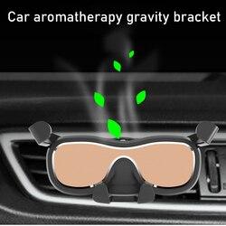 BuzzLee uniwersalny uchwyt samochodowy do telefonu stojak na kratkę wentylacyjną nie namagnesowany aromaterapia uchwyt grawitacyjny