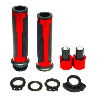Motorcycle CNC Universal 7/8  22MM Handlebar Hand Handle Bar CAPS Grips Racing for BARRACUDA YAMAHA YZF R1 R6 R7 XJR FZ1 FZ6