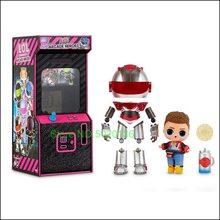 Surpresa meninos arcade heróis figura de ação lols boneca com 15 surpresas incluindo herói terno e menino boneca ou ultra-rara menina boneca