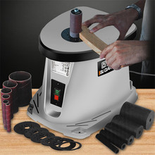 Grinding Machine Sanding Belt Column 14 Inch Home DIY Desktop Electric Shaft Electricity 50hz 220V 450W Sander Grinder