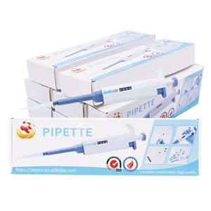 Image 5 - Pipette Gun Digital Adjustable Dragon Pipette Pipettor with Pipette Tips