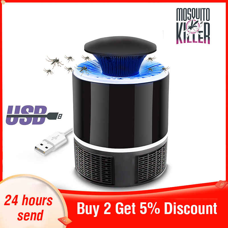 Led Mosquito Killer Lamp Electric Mosquito Killer Lamp Anti Mosquito Trap Mosquito Repellent Usb Insect Killer Insect Killer
