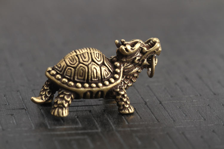 Dragon Turtle Keychains Pendants  (7)