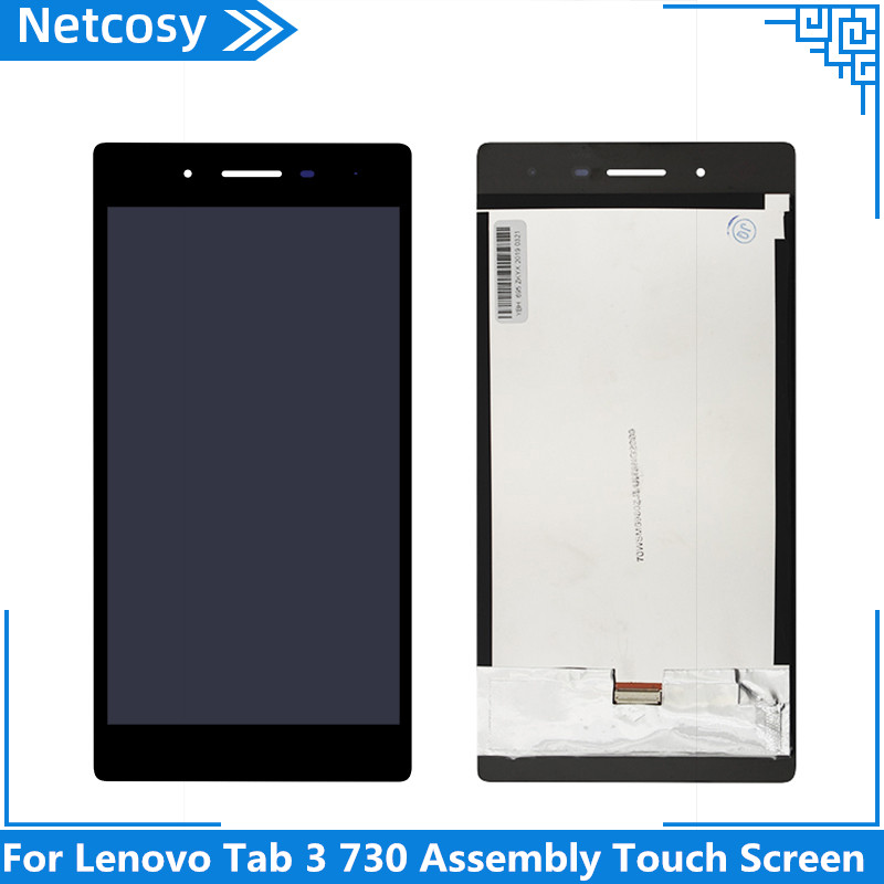 Netcosy For <font><b>Lenovo</b></font> <font><b>Tab</b></font> <font><b>3</b></font> 730 Assembly Touch Screen Digitizer For <font><b>Lenovo</b></font> TB3-730 TB3-730X TB3-730F TB3-730M Change And Repair image