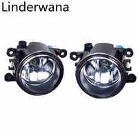 For Mitsubishi L200 Outlander Pajero Grandis Galant Halogen Fog Lights 55W 4300K 4000LM Fog Lights 2pcs