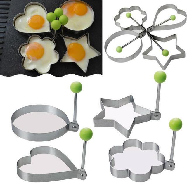 Stainless Steel Fried Egg Shaper Molds  4