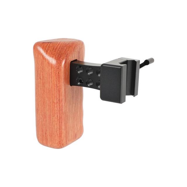 Kayulin DSLR Cámara mango de madera agarre liberación rápida NATO mango lateral (mano izquierda) para carcasa de camara Dslr Universal