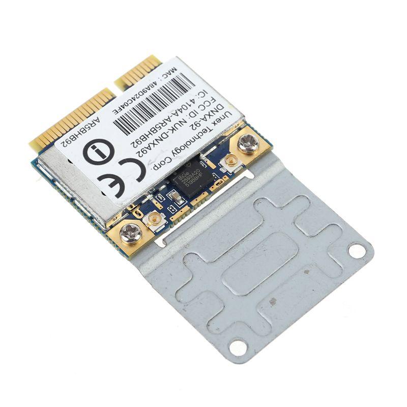 AR9280 AR5BHB92 Dual-Band 2.4/5GHz 802.11a/b/g/n 300Mbp Wireless Mini PCI-E Card