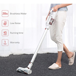 Free Tariff PUPPYOO T10 Home Cordless Stick Vacuum Cleaner 17.5Kpa Powerful Suction 45 Minutes Runtime Portable Dust Collector