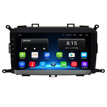 Android 10.0 Car DVD Player GPS Navigation Multimedia For KIA Carens 2013-2019 radio car stereo bluetooth wifi image