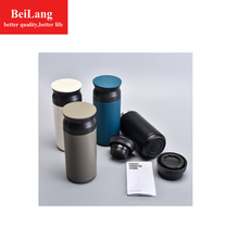 BeiLang New 304 stainless steel coffee cup thermos mug  termo hot vacuum flask creative gift portable out travel
